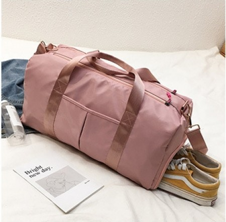 韓版超大容量乾濕分離 旅行包 健身包  ♡ 二色可選 牛津包 手提旅行袋 瑜伽包 【E0134】