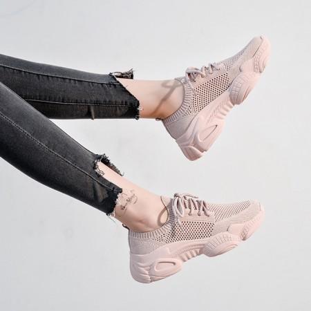 【獨家最新款】老爹鞋 ❤️三色可選 休閒鞋 女鞋 厚底鞋 編織鞋【H0151】