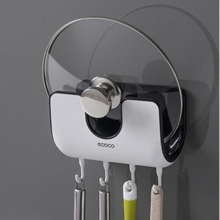 【廚房收納好幫手 】二用壁掛式鍋蓋架 ♡ 二色可選 收納架 鍋蓋架 湯勺【G1807】