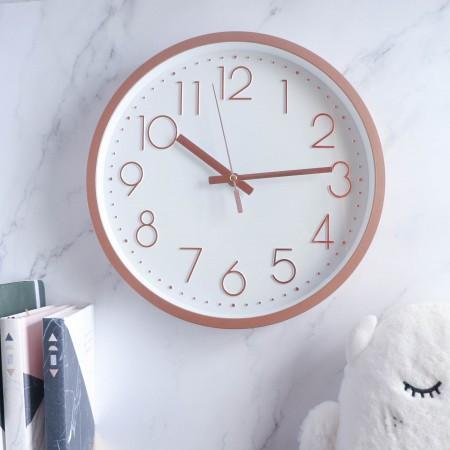 極簡靜音掛鐘 ❤️六色可選  時鐘 北歐風掛鐘 北歐風 掛鐘 壁掛時鐘 【H0136】