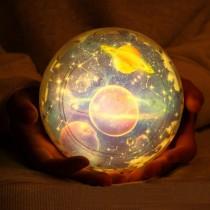 (交換禮物)【送五種幻燈片!浪漫星空】星空投影小夜燈 LED星空燈 USB星球小夜燈 星空投影燈 宇宙燈 星球燈【G1207】