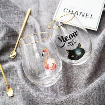 北歐風金邊玻璃杯 ♡ 六款可選  點心杯 玻璃杯  水杯 isotonix