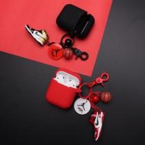 【最新流行】jordan款 Airpods保護套  耳機收納包   掛飾  鑰匙圈