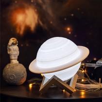 (交換禮物)【讓宇宙陪你入眠!】星球拍拍燈 ♡ 土星夜燈 月球燈 土星燈 節能燈 床頭燈 氣氛燈 小夜燈 檯燈 夜燈 燈【G1208】