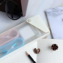 簡約質感鉛筆盒 收納盒 ♡ 四色可選