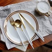 【交換禮物】 北歐餐具四件組♡八色可選