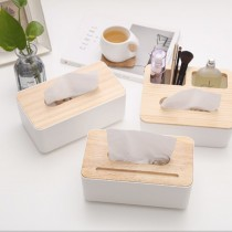 北歐風紙巾收納盒 ♡ 面紙盒 紙巾盒 收納盒 手機架 【FA114】