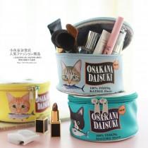 【特價出清】超Q貓罐頭收納包 ♡ 仿真貓咪零錢包 魚罐頭造型化妝包 罐頭拉鍊包
