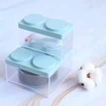 【交換禮物】積木收納盒 創意可疊加精緻整理盒 ♡七色可選 【整組下單處】