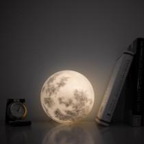【交換禮物】【超熱銷!月球燈】15、20CM 月球燈 LED充電 觸控拍拍 三色調光 月亮燈 小夜燈 USB 裝飾燈