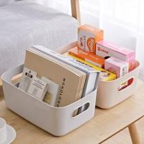 【色彩豐富!無印風格】無印風收納盒 ♡六色可選 日式收納盒  桌上收納 儲物盒 收納盒 置物盒 收納籃 廚房收納【I0145】