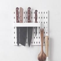 【百變收納 28種配件自由組合】 北歐風洞洞板♡A04組合  免釘 免打孔 收納架 收納壁板 洞洞板 壁板 IKEA【G5207】