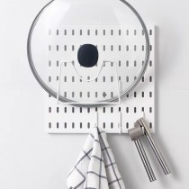 【百變收納 28種配件自由組合】 北歐風洞洞板♡A05組合  免釘 免打孔 收納架 收納壁板 洞洞板 壁板 IKEA【G5207】