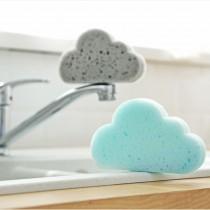 雲朵造型海綿  菜瓜布 清潔刷 海綿刷 雲朵 海綿菜瓜布【E0178】