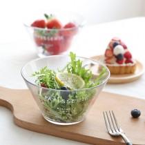 清新晨光法文沙拉碗玻璃碗