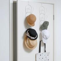 【帽子收納免煩惱 隨掛即用】 帽子收納架 衣帽架 收納架 免打孔 衣帽 架子 掛鉤 掛架 收納【G2610】