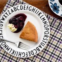 IG爆款 北歐字母餐盤  兒童餐盤