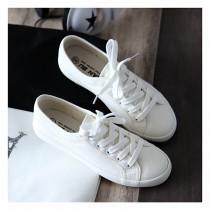韓國超夯的百搭帆布小白鞋