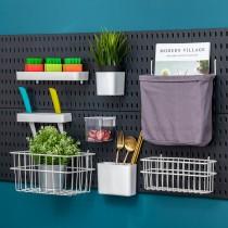 【百變收納 28種配件自由組合】 洞洞板專用收納系列♡九種款式可選 免釘 免打孔 掛勾 工具架 收納架 IKEA【G5207】