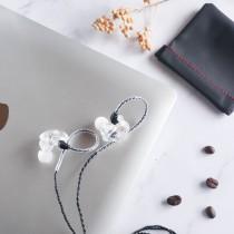 【買就送專用收納袋! 最平價的高音質耳機】QKZ VK1 專業級入耳式耳機 雙動圈耳機 重低音 線控耳機 HIFI耳機 高階無損音質耳機 入耳式 耳機 【A1716】