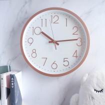 極簡靜音掛鐘 ❤️六色可選  時鐘 北歐風掛鐘 北歐風 掛鐘 壁掛時鐘 鐘