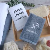 【交換禮物】12星座刺繡五星飯店訂製款毛巾