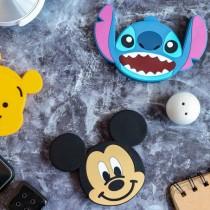 【現貨正版雷標】DISNEY迪士尼無線充電器 充電板 充電盤 無線充電座 米奇 米妮 維尼 三眼怪 史迪奇 熊抱哥