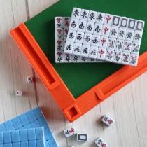 【買就送 專用牌尺、收納袋】旅行麻將  迷你麻將 麻將 ♡三色可選 【B0308】