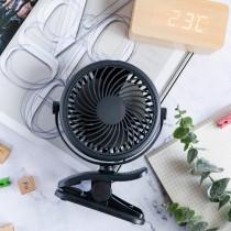 【720度旋轉!可拆洗】夾式風扇 嬰兒車風扇 ♡ 六色可選 娃娃車夾扇  隨身風扇