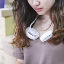 【2019 最新設計】掛脖風扇 ♡ 五色可選  USB風扇 隨身風扇 充電風扇 雙風扇